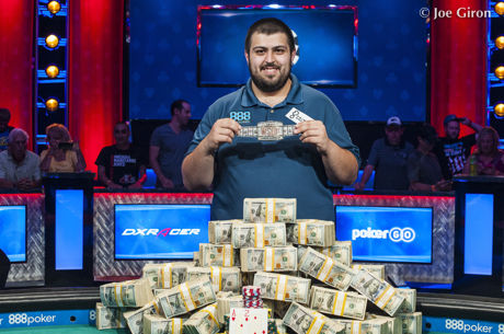 Scott Blumstein Wins World Series of Poker Main Event for $8 Million