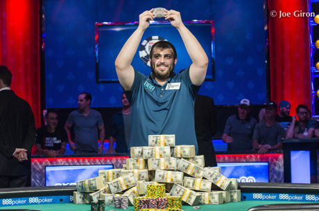 Scott Blumstein Vence Main Event das World Series of Poker 2017