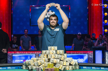 Scott Blumstein Vence Main Event da World Series of Poker 2017
