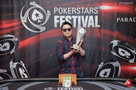 Taehoon Han Wins PokerStars Festival Korea Main Event (₩83,130,000)