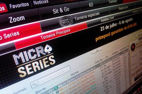 Micro Series da PokerStars.pt com Mais 5 Campeões