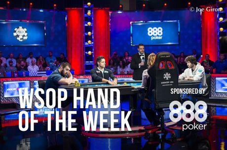 La mano de la semana: el all in a tres bandas que pudo decidir el Main Event de las WSOP 2017
