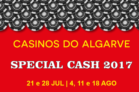 Hoje há Special Cash no Casino de Vilamoura