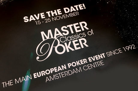 Holland Casino maakt schema van 2017 Master Classics of Poker (15-25 november) bekend!