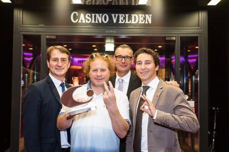 Simon Boss gewinnt Poker Europameisterschaft im Casino Velden