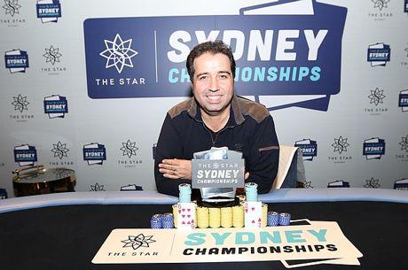 The 2017 Star Sydney Championships 6 Max Champion is Warwick Mirzikinian