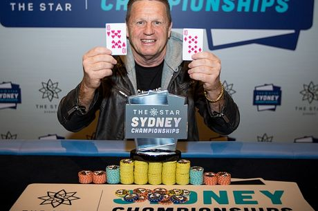 Graham Cowan is the Masters Champion at the 2017 Sydney Championships