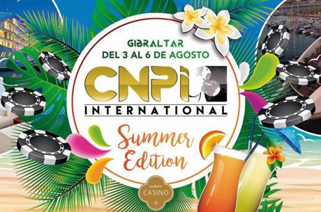 Nuno Silva, Tiago Oliveira, Cláudio Coelho e Nuno Alves no Dia 2 do CNPI em Gibraltar