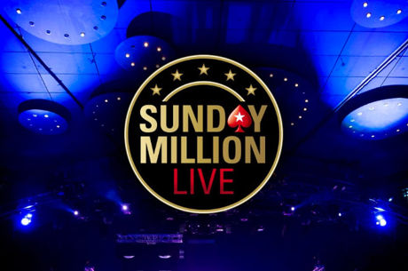 Play in the €1M Guaranteed PokerStars Sunday Million LIVE For Free