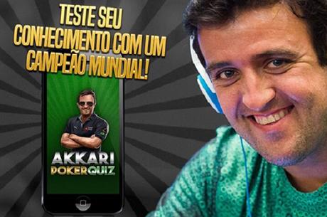 André Akkari Lança Aplicação para Testar Conhecimentos no Poker