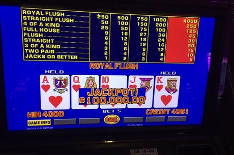 The Muck: Kyle Cartwright's Video Poker Legend Grows