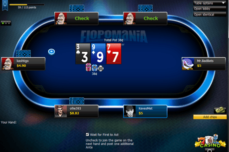 Review: Putting 888poker's 'Flopomania' to the Real-Money Test