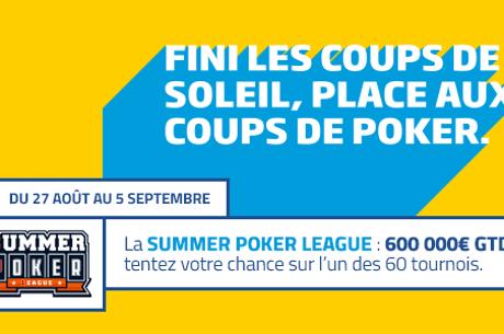 Summer Poker League : 600.000€ à se partager sur PMU Poker