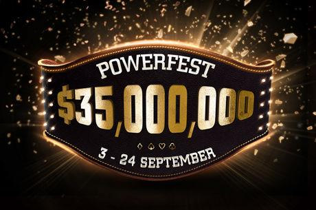 partypoker Powerfest Returns Sept. 3 with $35 Million in Guarantees