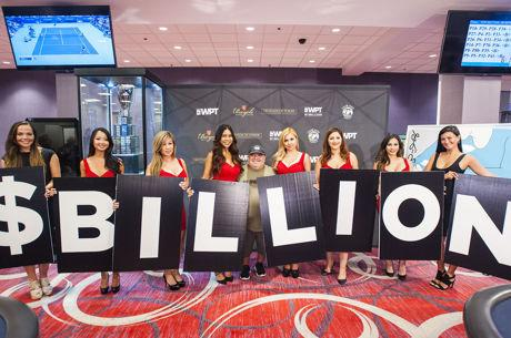World Poker Tour Pays Out One-Billionth Dollar, CEO Shares Vision