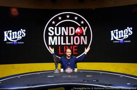 Philipp Salewski gewinnt die Sunday Million Live