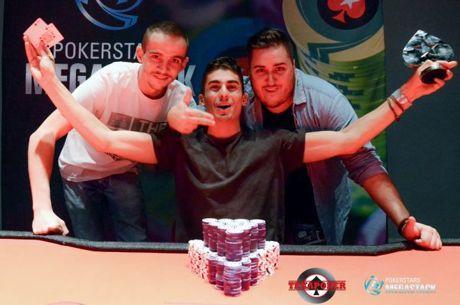 Megastack PokerStars LGM : Jonathan Jovet domine un field record de 2177 entrants