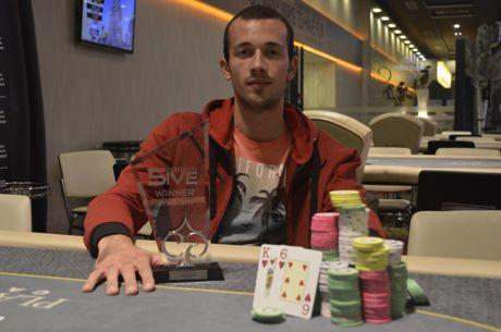 Борислав Христов спечели Platinum 5IVE 2017 за €4,100