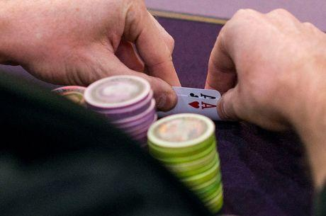Jonathan Little Plays Pocket Aces Cautiously in a Four-Bet Pot