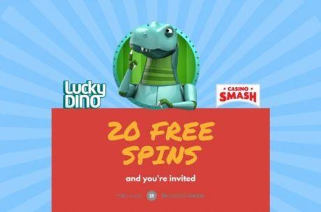Get The New 20 Free Spins No Deposit Bonus at Lucky Dino!