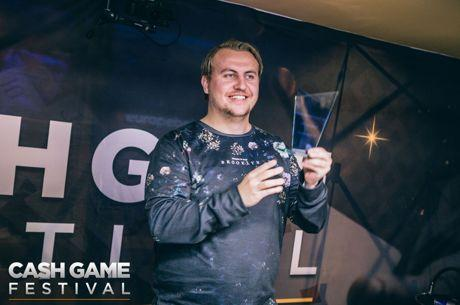 Jon Kyte war der Star beim 2017 Cash Game Festival London