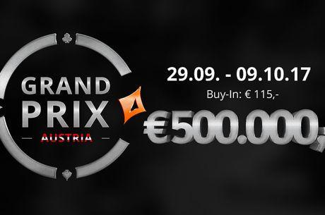 partypoker Grand Prix Austria Ticket Verlosung