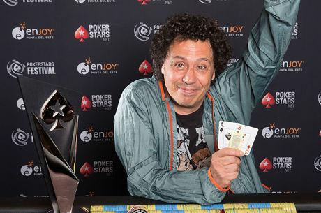 Julio Belluscio ganó el Main Event del PokerStars Festival Uruguay por 66.748 $