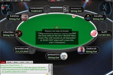 Main Event WCOOP : Van Zadelhoff énorme leader, la France en finale