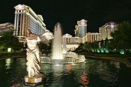 Las Vegas : La Fontaine du Caesars Palace disparaît