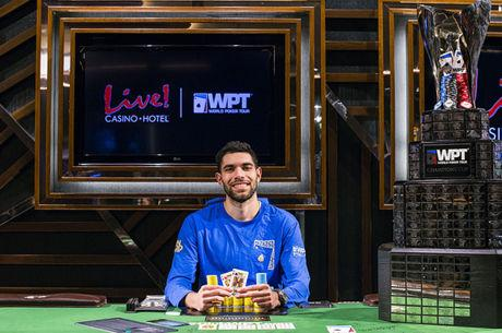 World Poker Tour: Art Papazyan gana su segundo título del WPT de la temporada