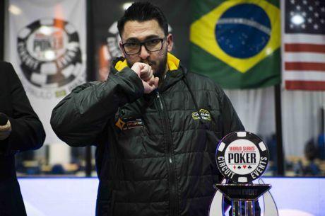 Andrew Zeus Crava WSOP Circuit Brasil - R$ 550,000