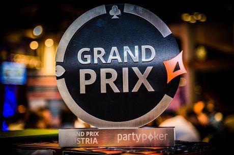 partypoker LIVE Grand Prix Austria Tag 2: Vladimir Burstein führt