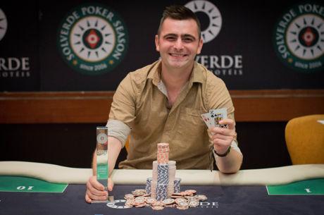 Timis Tudor Conquista Etapa #8 da Solverde Poker Season