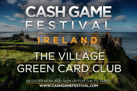 Cash Game Festival von 11. bis 15. Oktober in Dublin