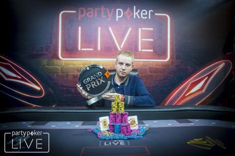Vladimir Burstein gewinnt den partypoker LIVE Grand Prix Austria