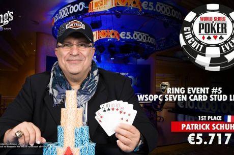 WSOPC Rozvadov : Une bague en Stud pour Patrick Schuhl