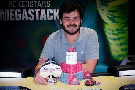 Rodrigo Alexandre gana la segunda parada del PokerStars MEGASTACK Iberia