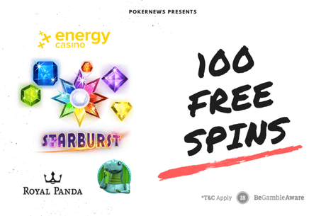 100 Free Spins to Play Starburst For Real Money!