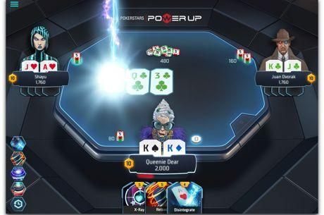 El futurista 'Power Up' de PokerStars ya disponible en dinero real