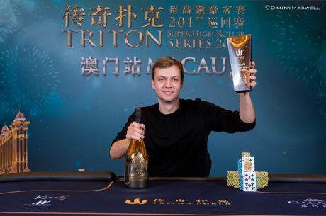 Stefan Schillhabel Wins Triton Super High Roller Macau $250,000 Six-Max