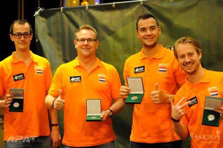 Team Nederland eindigt als tweede bij Europees Kampioenschap Amateur Poker
