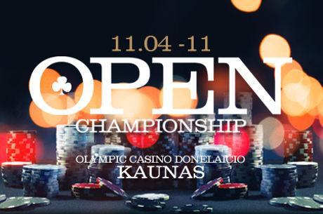 Lapkričio pradžioje - atviras Kauno miesto pokerio čempionatas