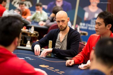 Stephen Chidwick Leads Day 1 of Triton Super High Roller Macau Main Event