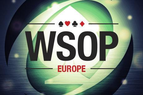 WSOP Europe Features €5 Million GTD Main Event