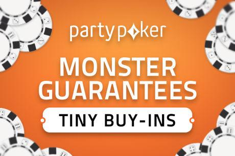 Monster Series at partypoker Kicks Off with $5 Million Guaranteed