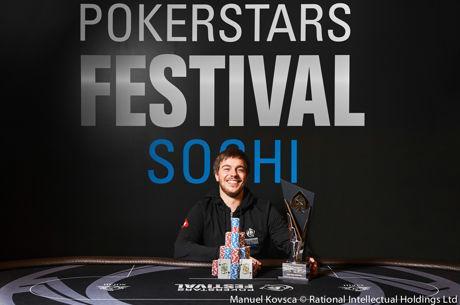 Aleksandr Merzhvinskiy gana el Main Event del PokerStars Festival Sochi