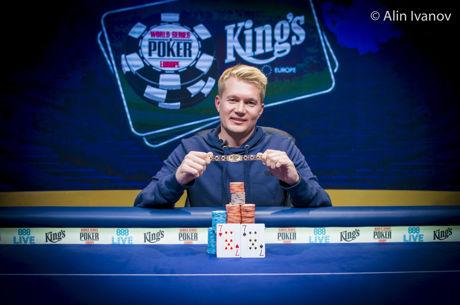 Oleksandr Shcherbak Captures First Gold Bracelet of 2017 WSOP Europe