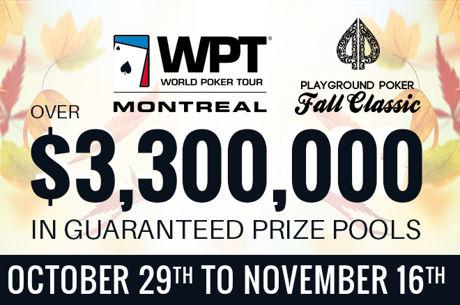 Playground Poker's Annual Fall Classic is Back Beginning This Sunday