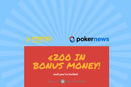 Get Up to €200 to Play at EnergyCasino!