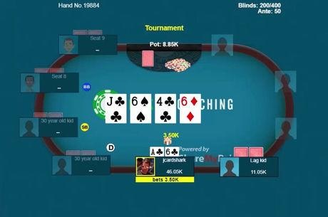 Sizing Bets on the Flop and Turn to Set Up a River All-In